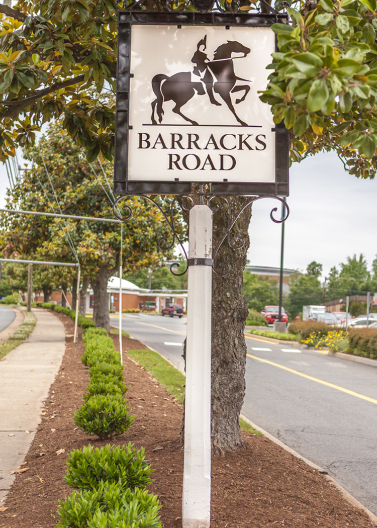 Barracks Sign