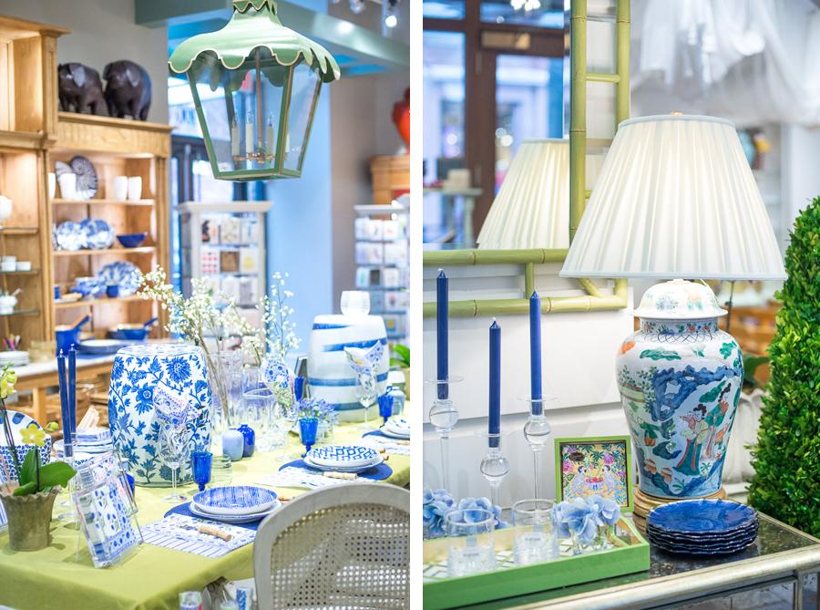 Beautiful Blue & White Entertaining Inspiration with Caspari