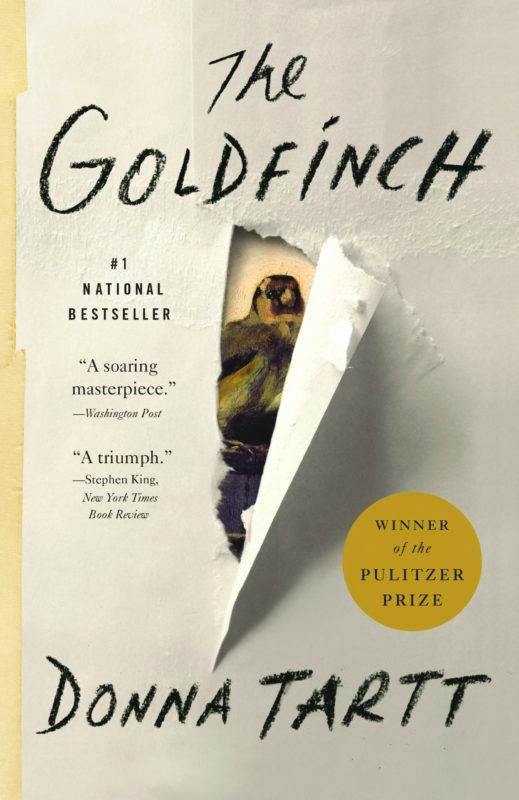 Cover of The Goldfinch by Donna Tartt book