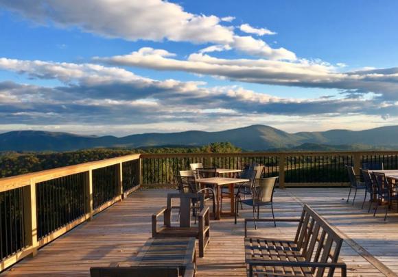 View from 12 Ridges Vineyard