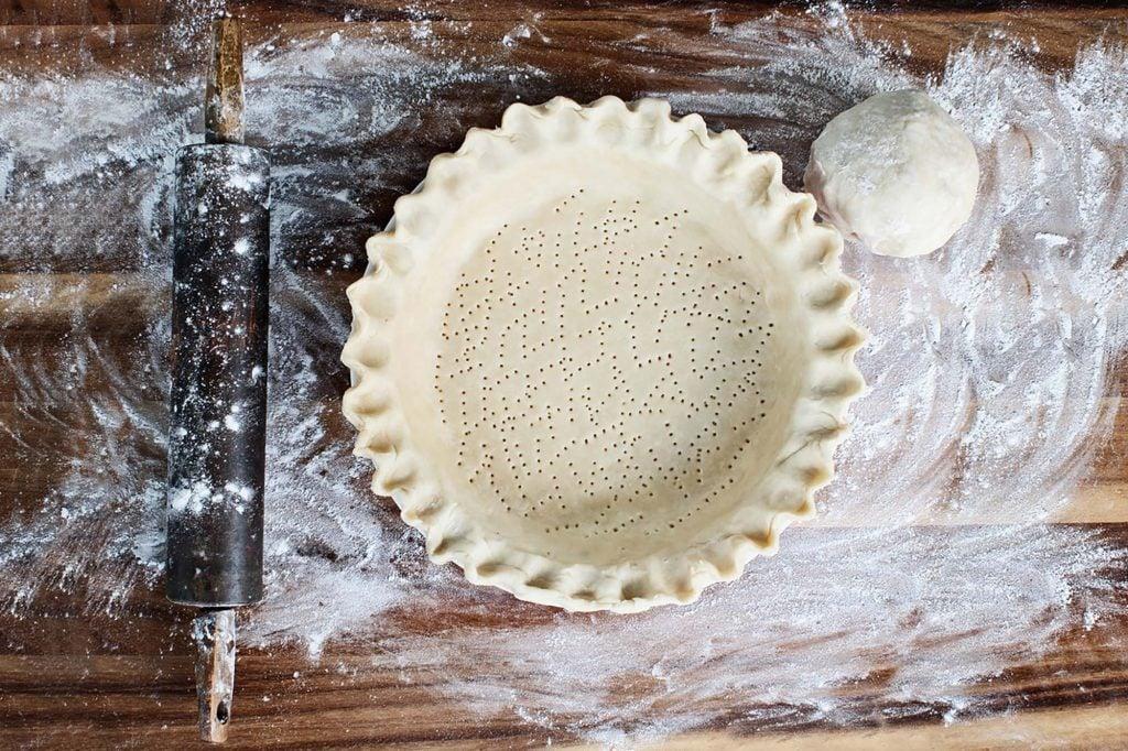butter crust recipe, from scratch