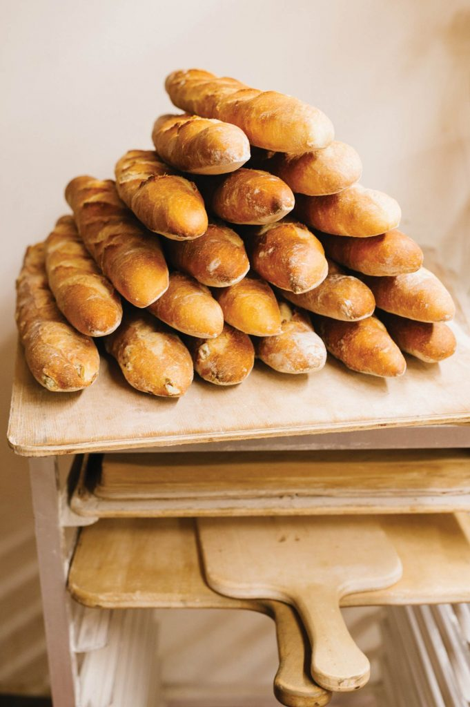 Charlottesville baguettes
