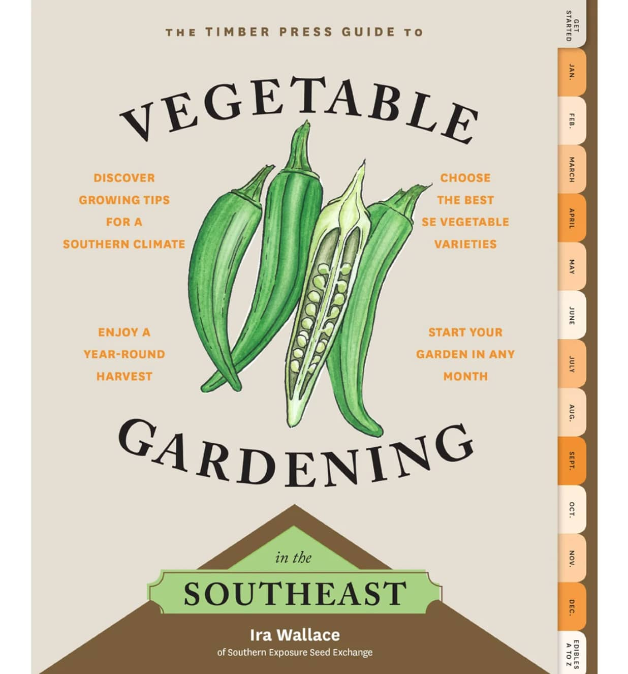 Cooking book by vegetable gardening in the southeast