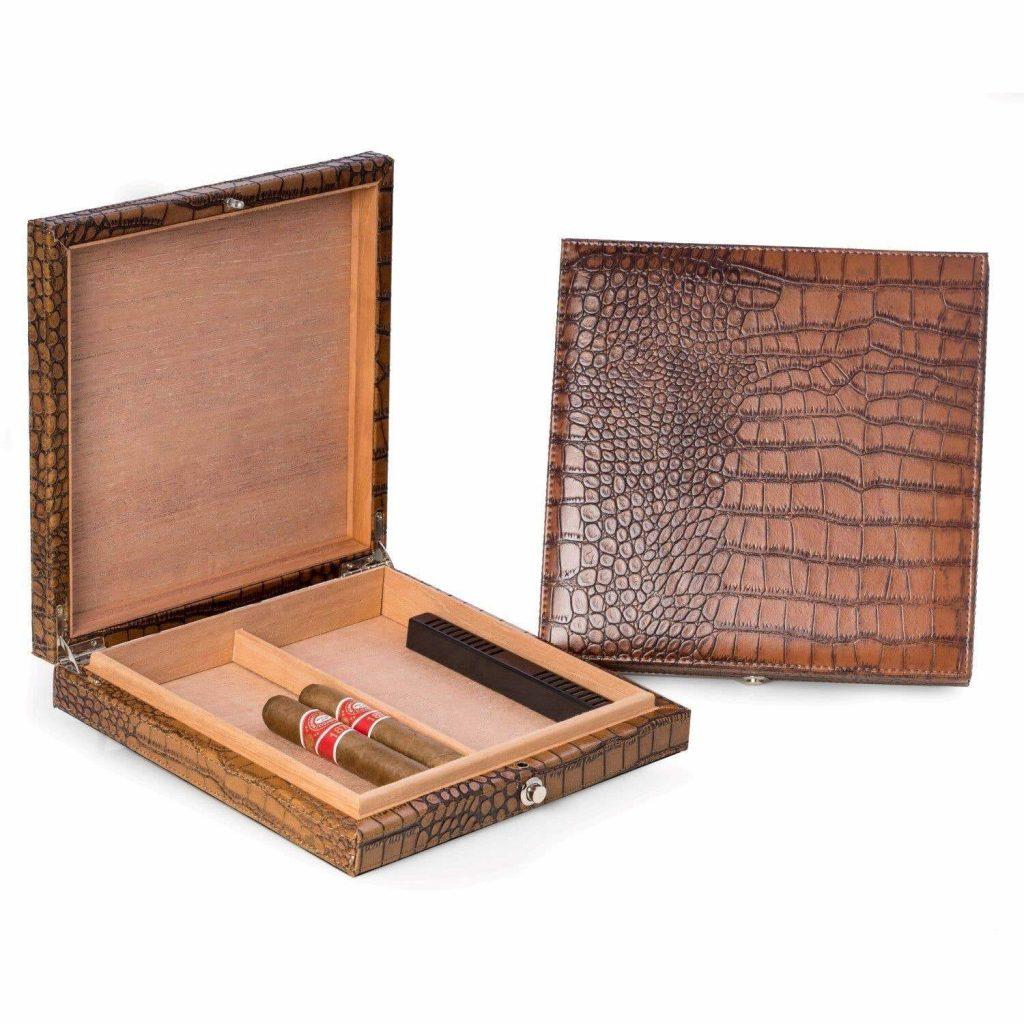 Leather Cigar Humidor