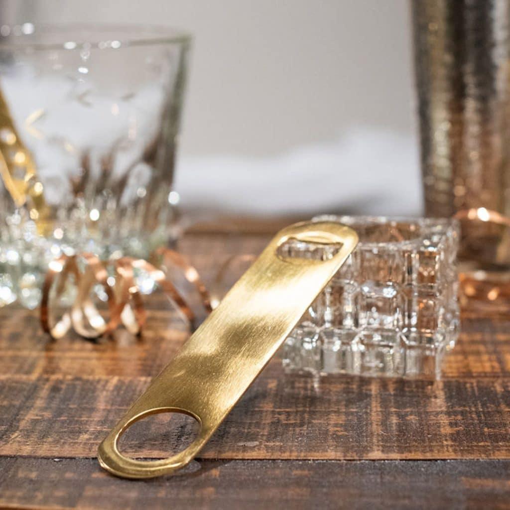 Barware Gold Bottle Opener