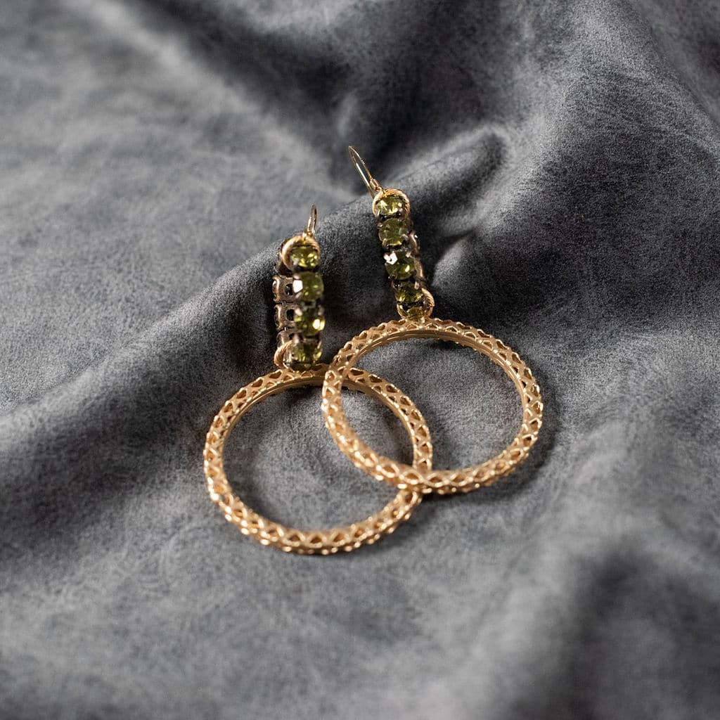 Gold Hoop Earnings