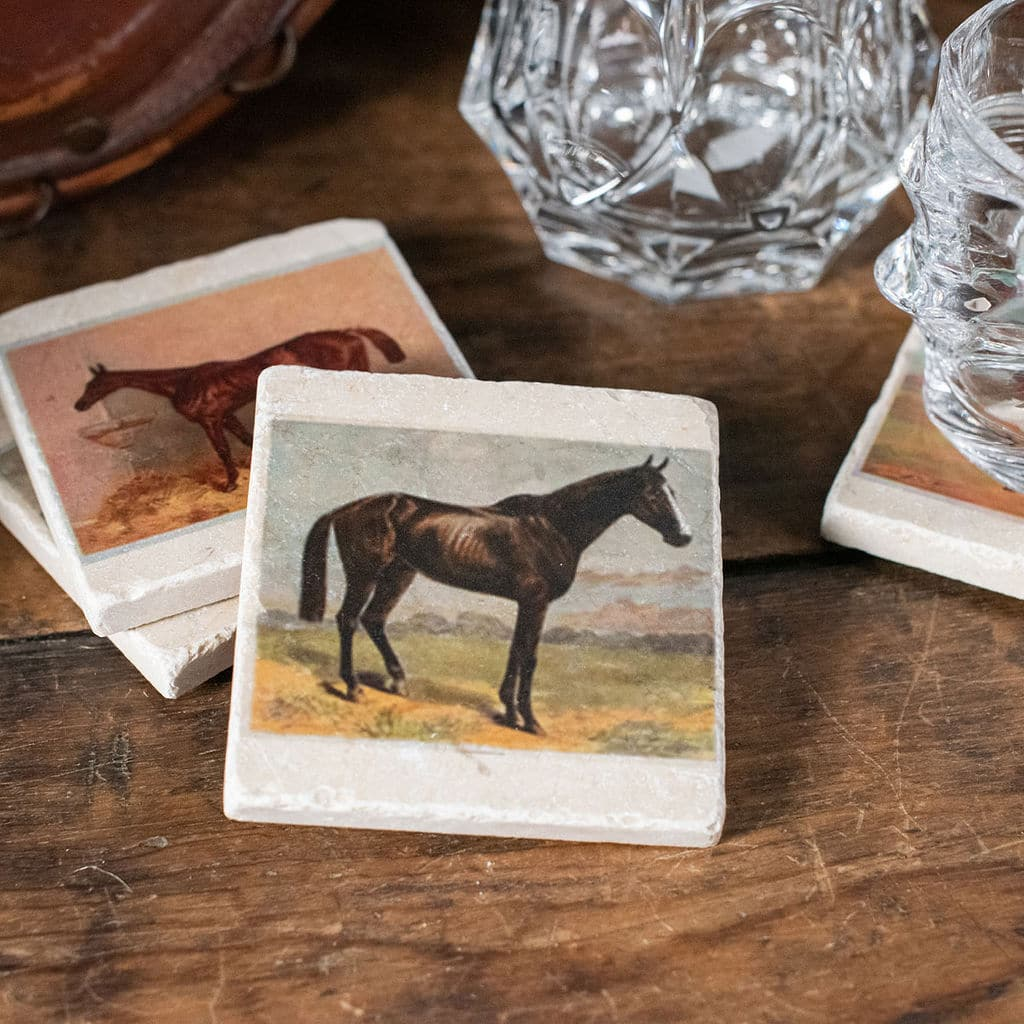 Horse Painting Coaster