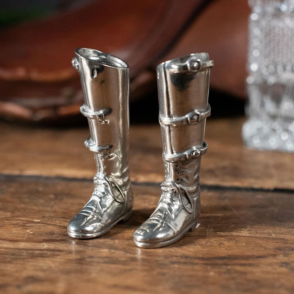 Riding Boots Salt Shaker