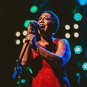 Richelle-Claiborne singing