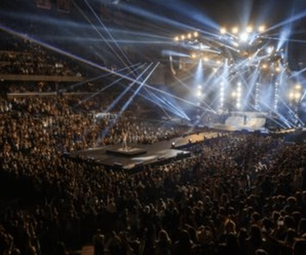 Concert at John Paul Jones Arena