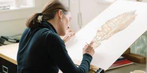 Artist Lara Gastinger