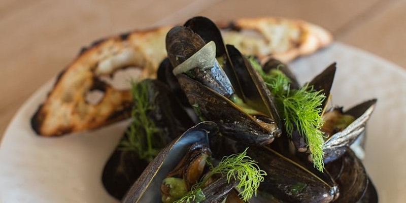 Mussels at Pippin Hill