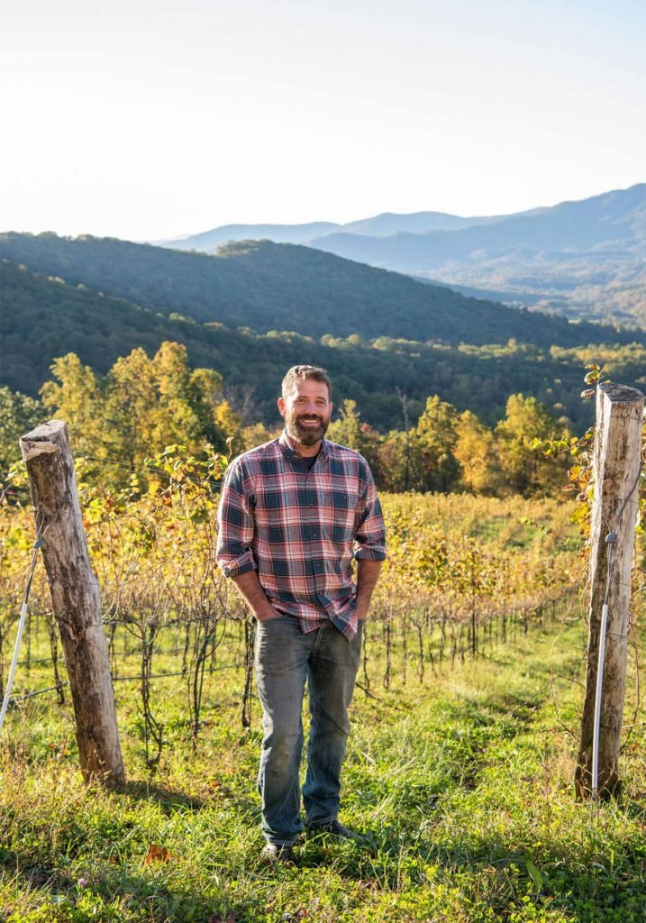 Ankida Ridge Vineyards Winemaker Nathan Vrooman
