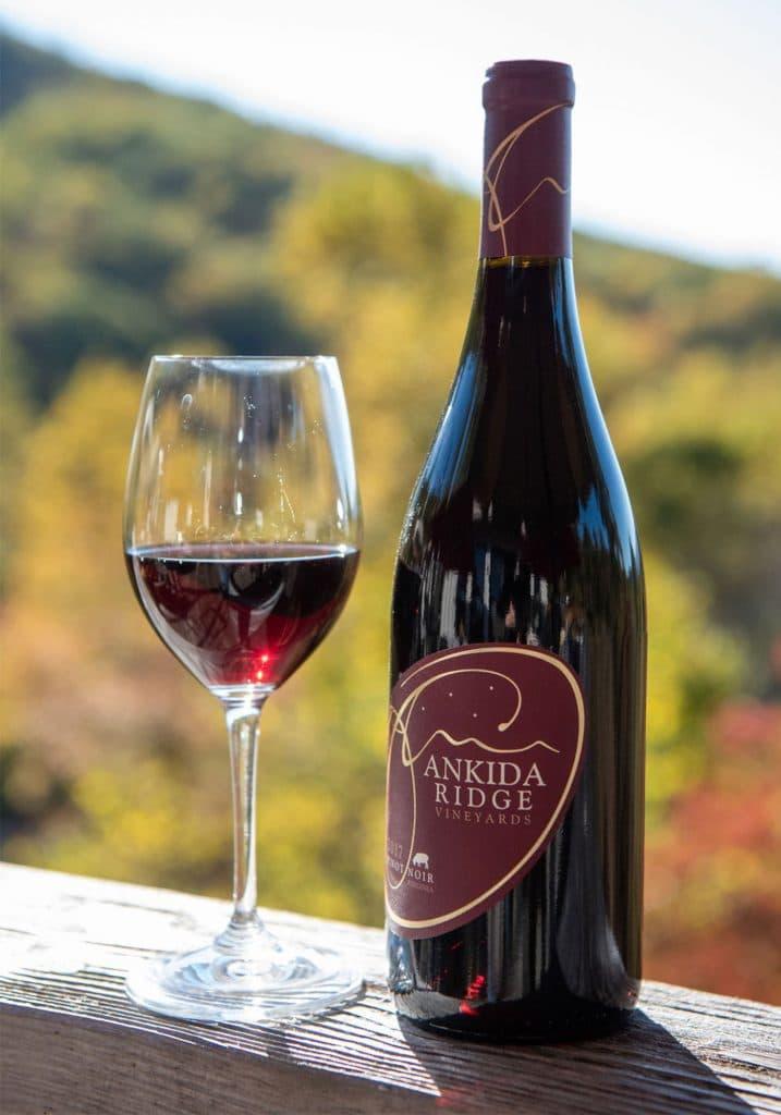 Ankida Ridge Vineyards 2017 Pinot Noir