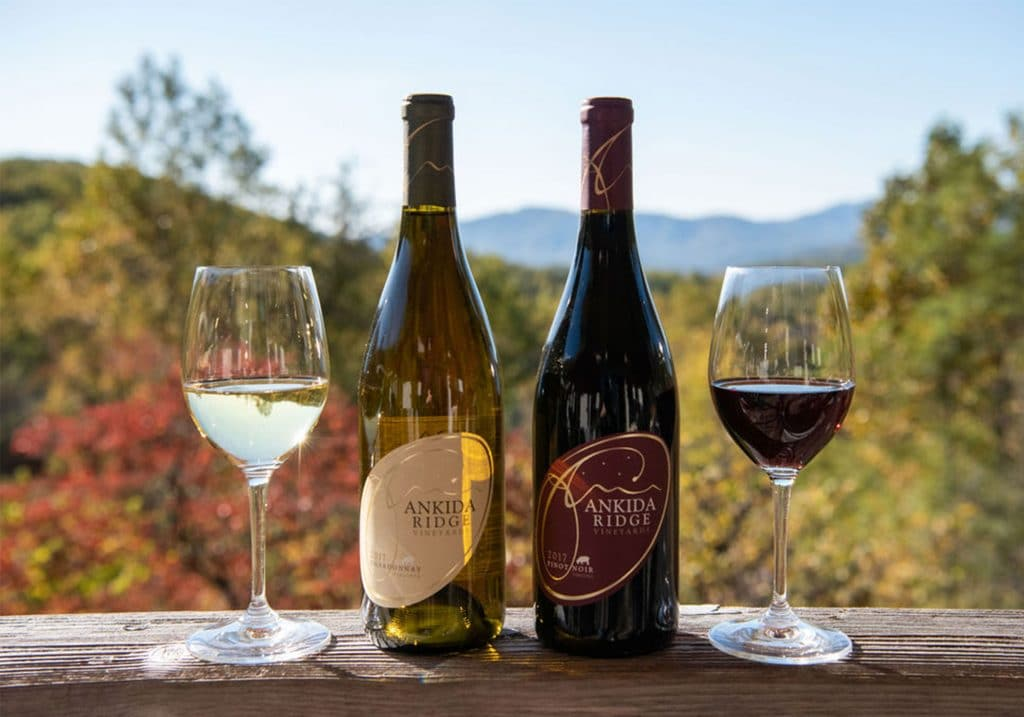 Ankida Ridge Vineyards Wine