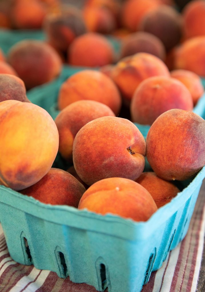 Peaches picked at Chiles Peach Orchard