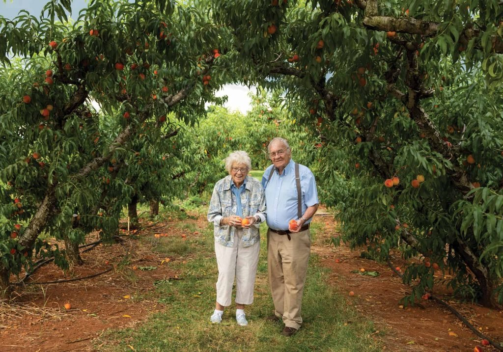 Ruth and Henry of Chiles Family Orchard
