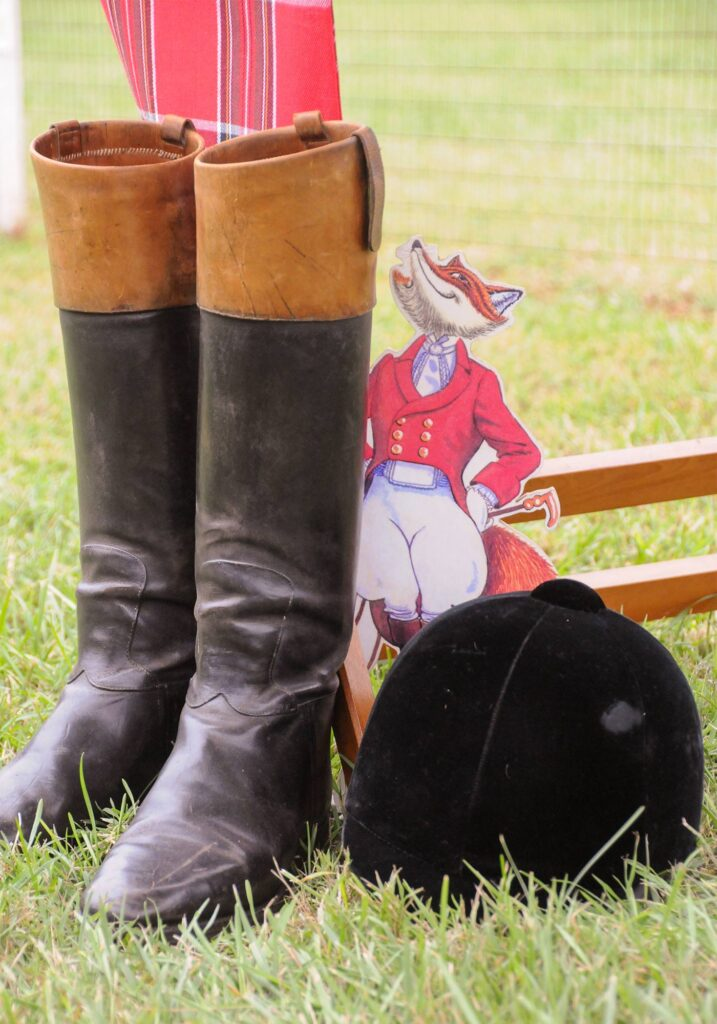Foxfield Races boots, Image: © Wine & Country Life