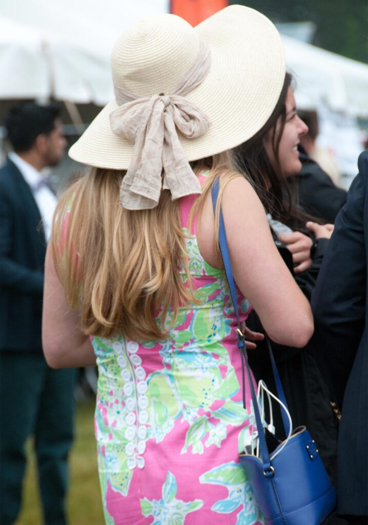 Foxfield Races fashion, Image: © Wine & Country Life