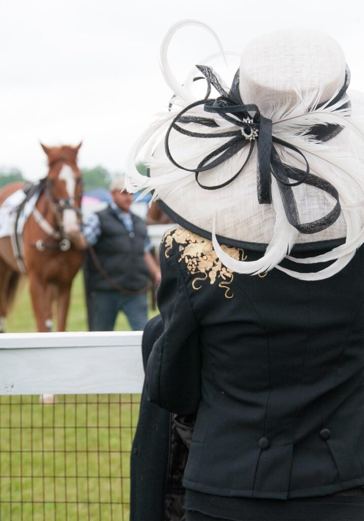 Foxfield Races hat, Image: © Wine & Country Life