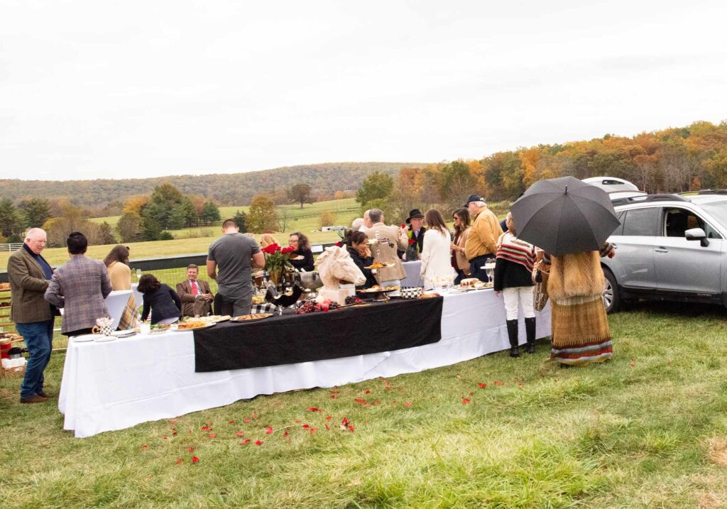 Virginia Gold Cup tailgate spread, Image: © Wine & Country Life