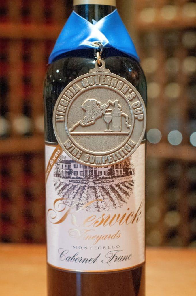 Keswick Vineyards wine, © Image by Wine & Country Life