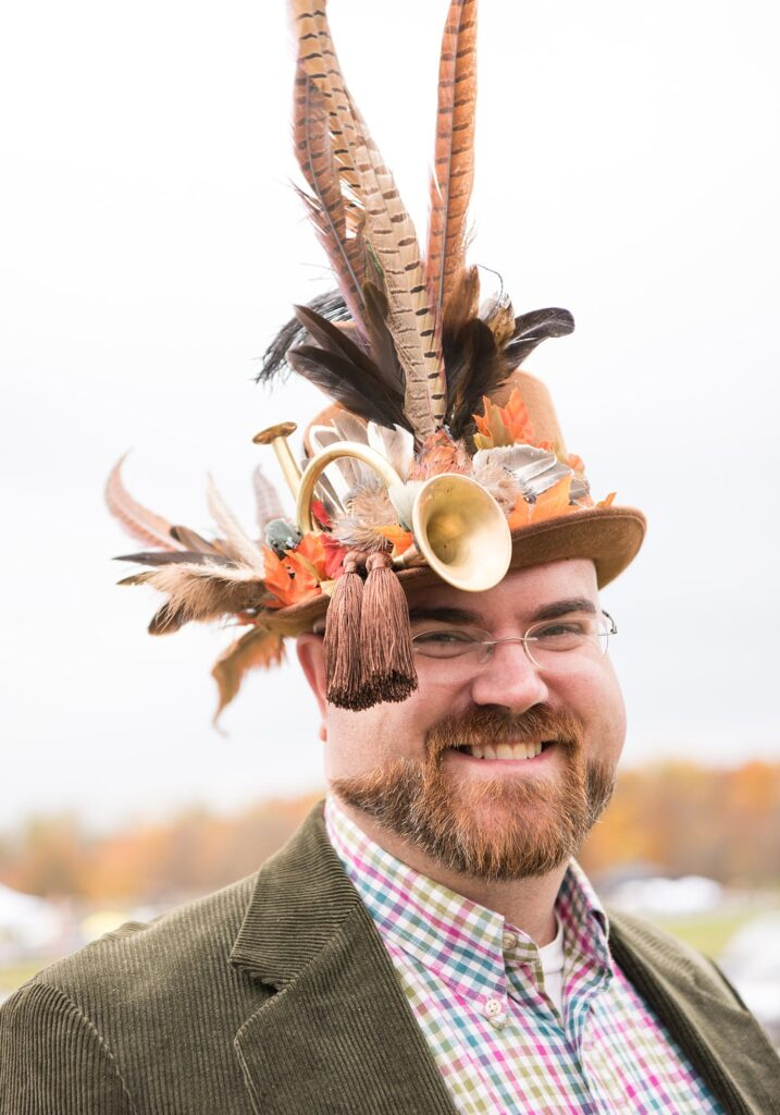Montpelier Hunt Races hat, Image: © Wine & Country Life