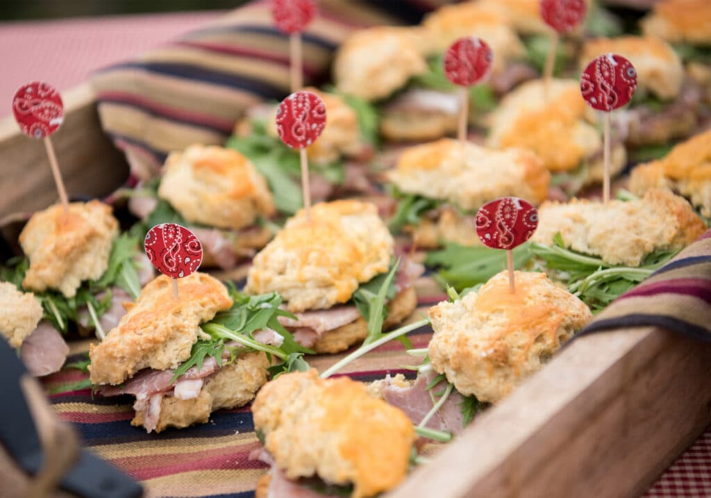Montpelier Hunt Races tea sandwiches, Image: © Wine & Country Life