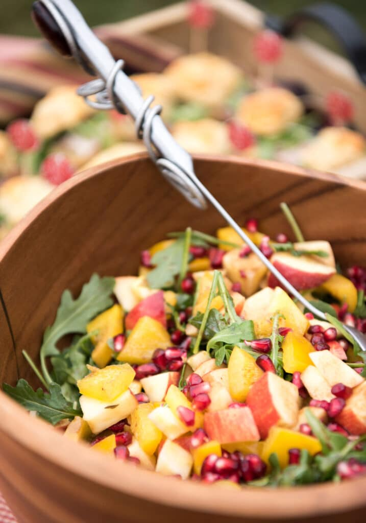 Montpelier Hunt Races salad, Image: © Wine & Country Life