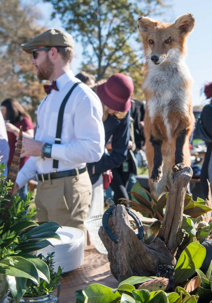 Montpelier Hunt Races fox statue, Image: © Wine & Country Life