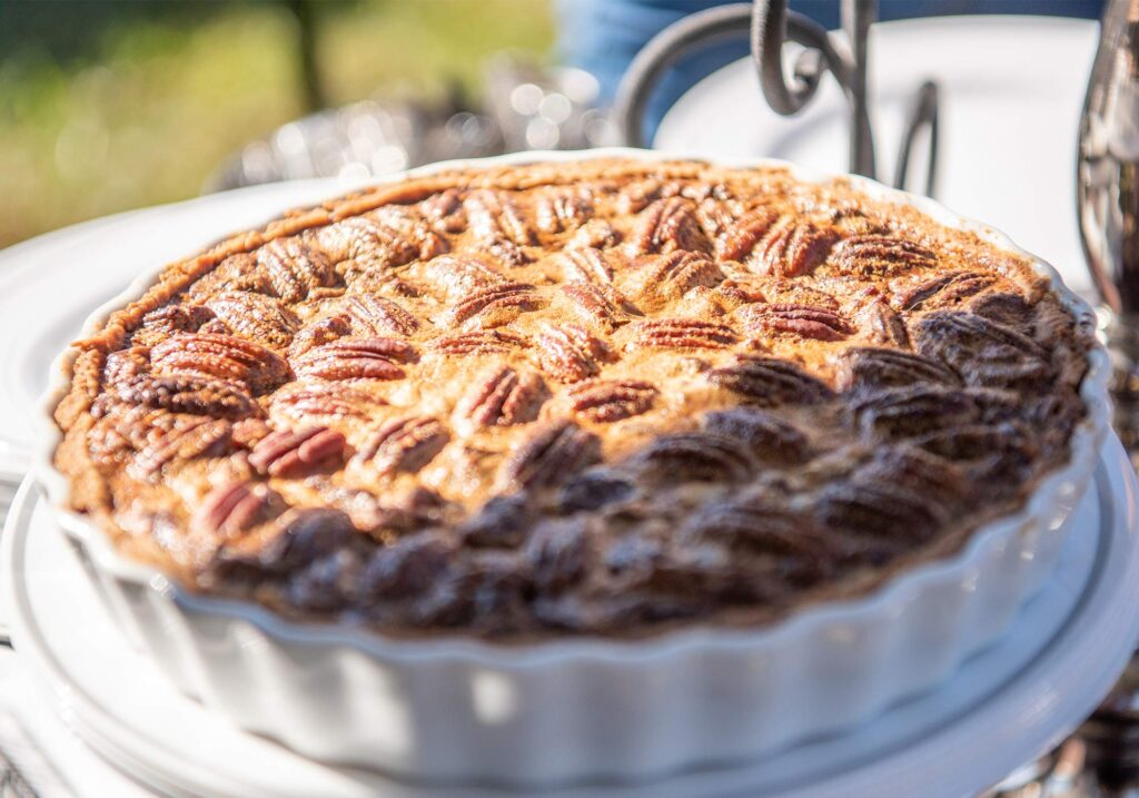 Pecan pie at Montpelier Hunt Races, Image by © RL Johnson for Wine & Country Life