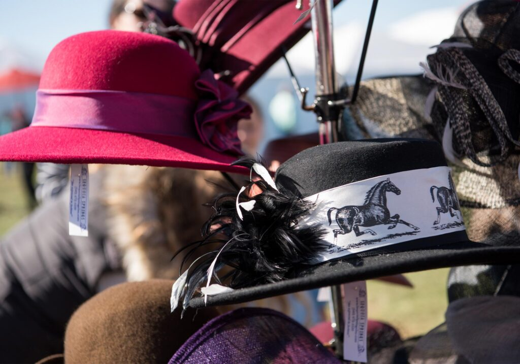 Montpelier Hunt Races hats, Image: © Wine & Country Life