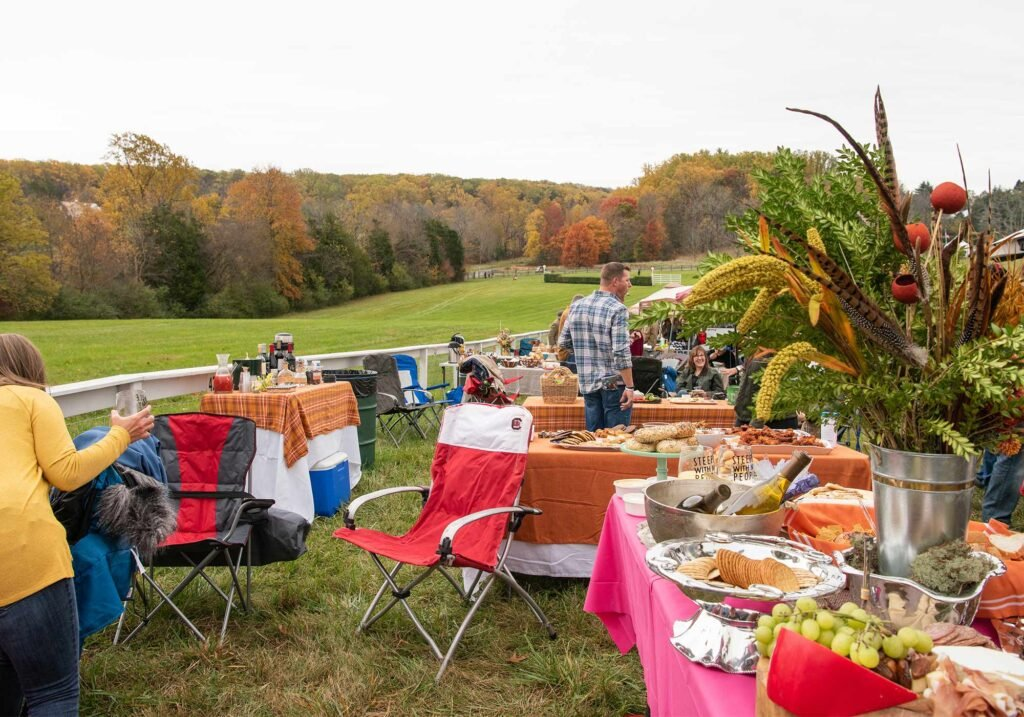 Montpelier Hunt Races tailgating, Image: © Wine & Country Life