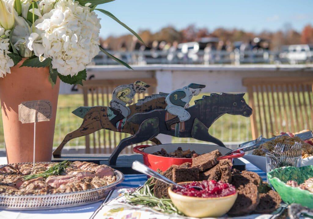 Montpelier Hunt Races jockey's decor, Image: © Wine & Country Life