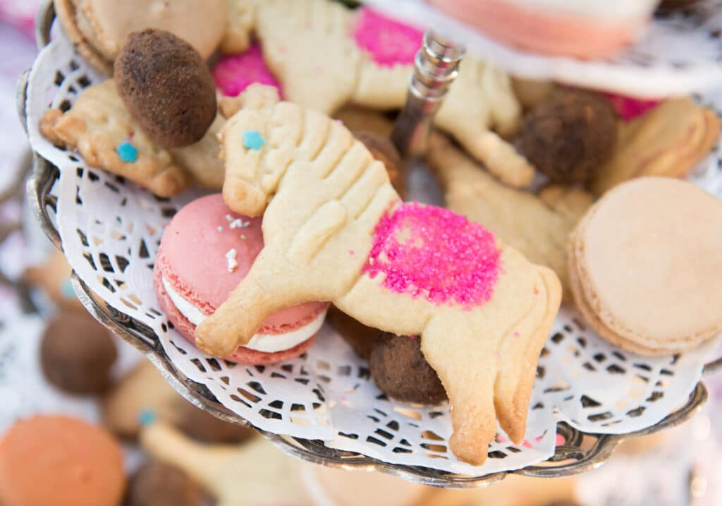 horse cookies at Montpelier Hunt Races horse cookies, Image: © Wine & Country Life