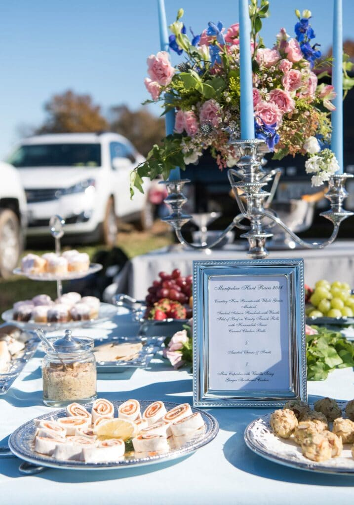 Montpelier Hunt Races tailgate menu, Image: © Wine & Country Life