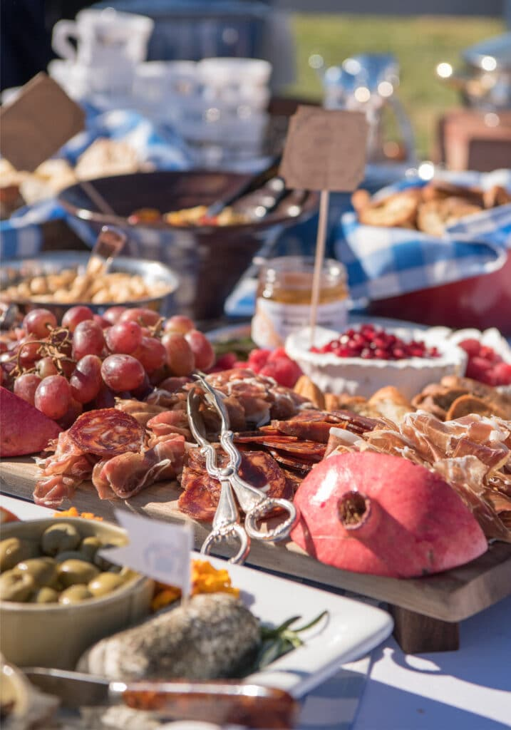 Montpelier Hunt Races charcuterie, Image: © Wine & Country Life