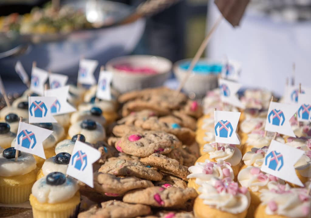 cupcakes at Montpelier Hunt Races cupcakes, Image: © Wine & Country Life