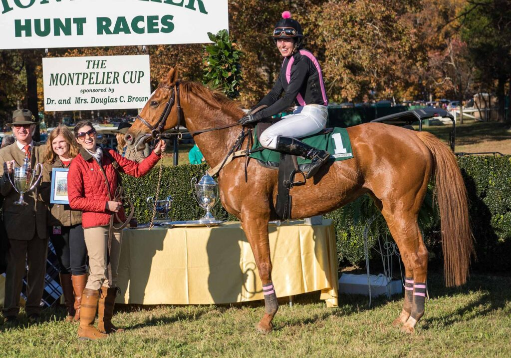 Montpelier Hunt Races horse, Image: © Wine & Country Life