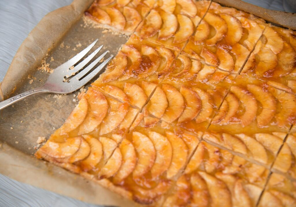 apple tart Montpelier Hunt Races, Image by © RL Johnson for Wine & Country Life