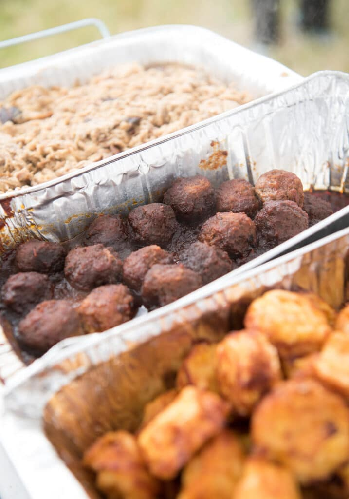 Montpelier Hunt Races Appetizers, Image: © Wine & Country Life