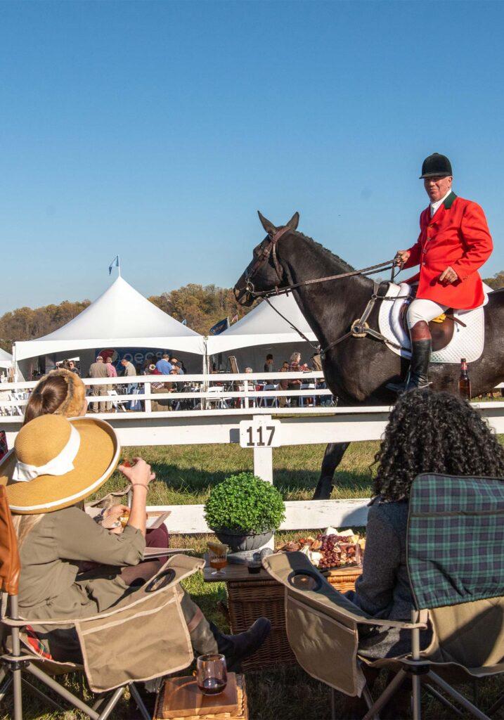 Montpelier Hunt Races Spectators, Image: © Wine & Country Life