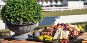 Montpelier Hunt Races tailgate set up, Image by © RL Johnson for Wine & Country Life