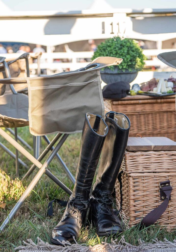 Montpelier Hunt Races riding boots, Image: © Wine & Country Life