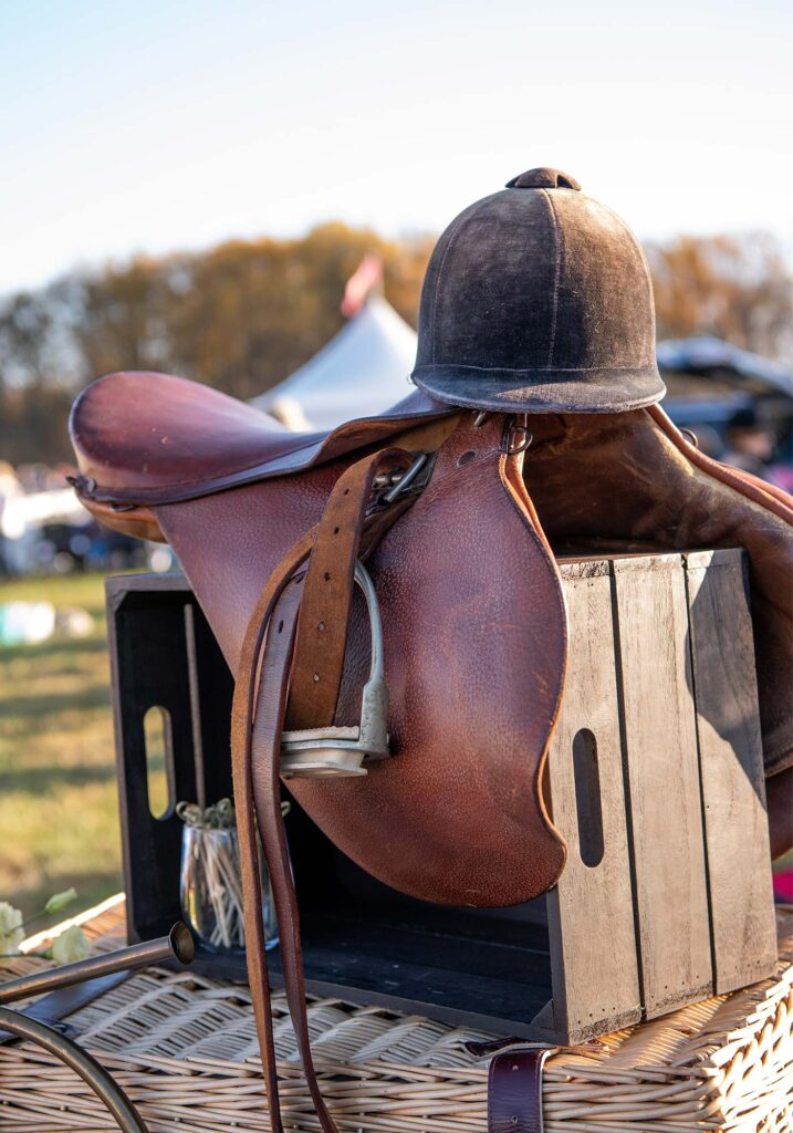 Montpelier Hunt Races riding decor, Image: © Wine & Country Life
