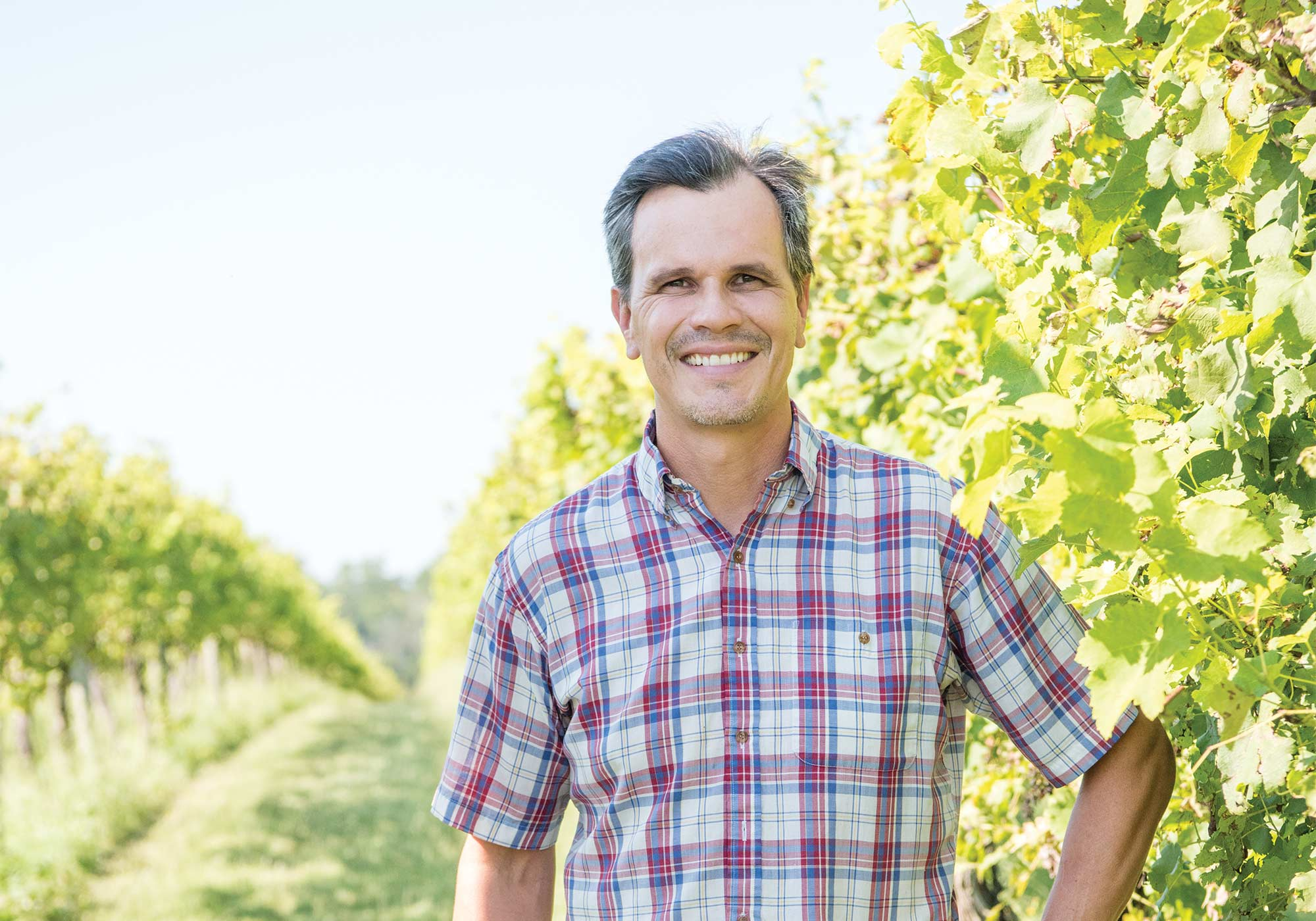 Keswick Vineyards winemaker Stephen Barnard, © Image by Wine & Country Life