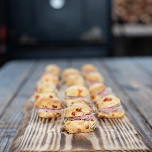 BBQ Exchange Ham Biscuits, Image: © Wine & Country Life