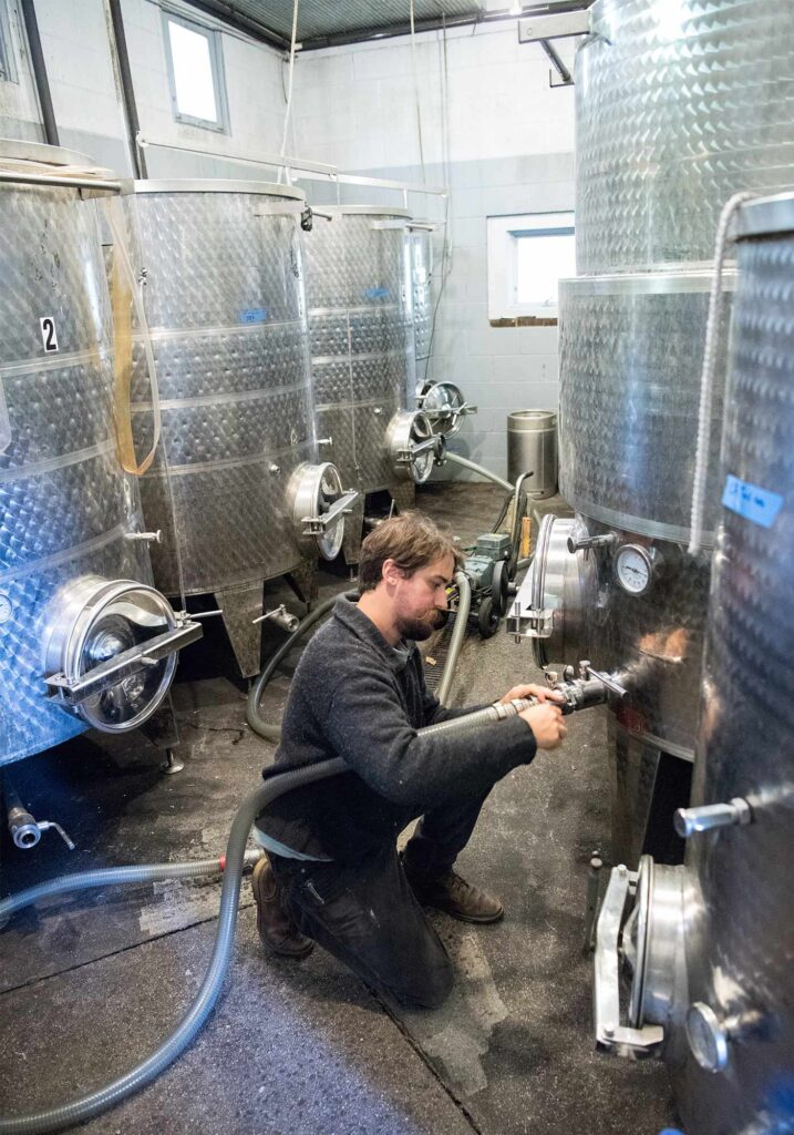 Gabriele Rausse Winery, Image by © RL Johnson for Wine & Country Life