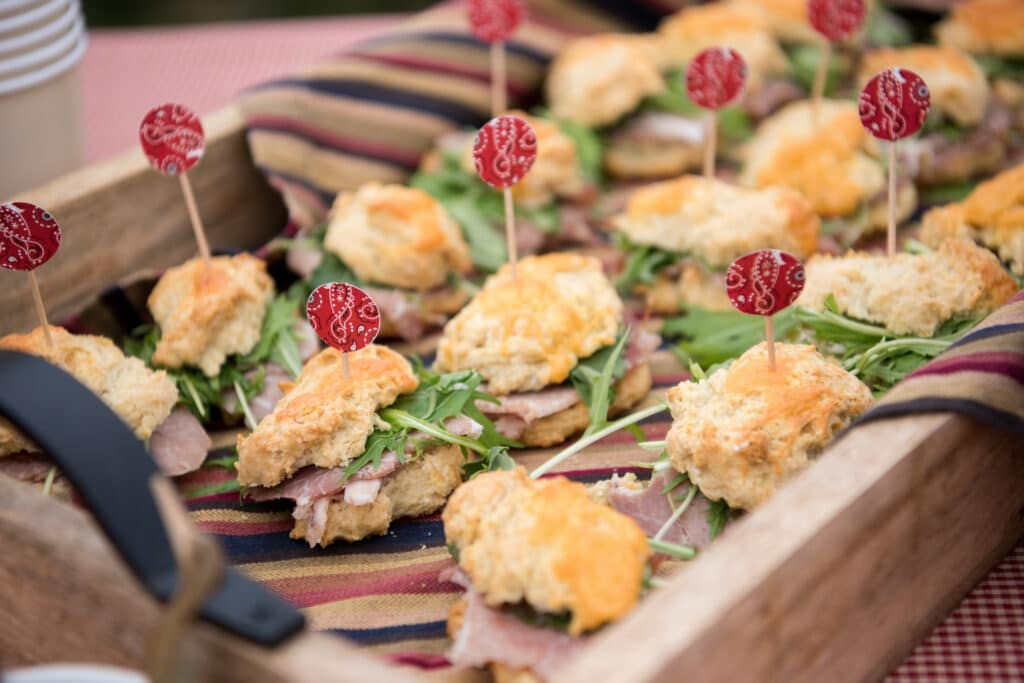 Ham Biscuits, Image: © Wine & Country Life