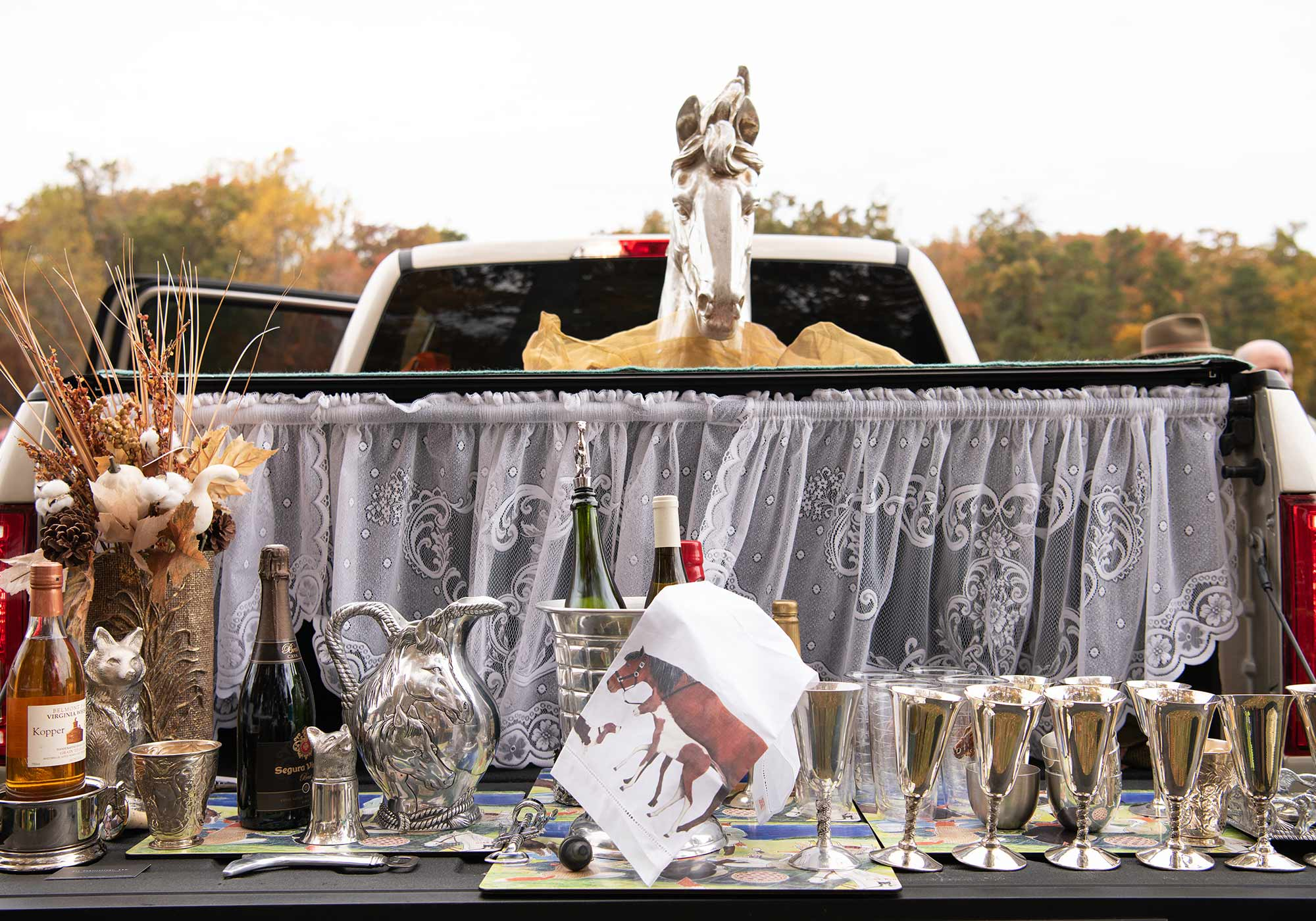 Montpelier Hunt Races, Image by © RL Johnson for Wine & Country Life